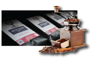 Dutch Colony Coffee uses VP700 to print coffee bag labels