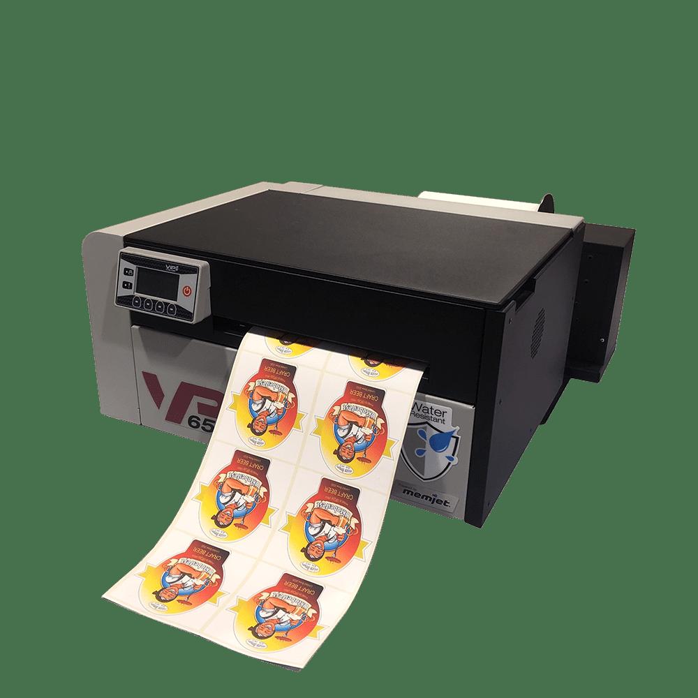 VIPColor VP6xx Series fast color label printer