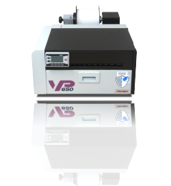 VP650 water resistant color label printer
