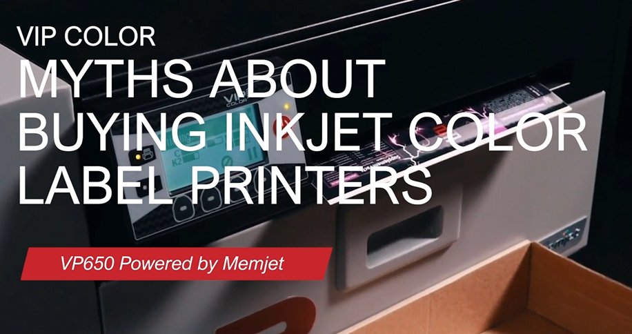 Myths about buying inkjet color label printers