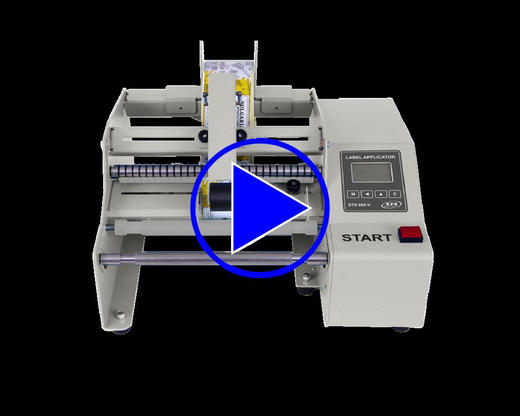 STS808-V Bottle Label Applicator Video